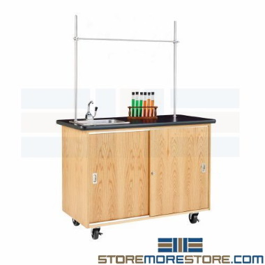 school science learning lab mobile tables