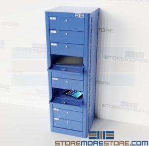electronics charging storage stations