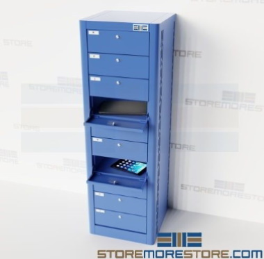 electronics charging storage stations