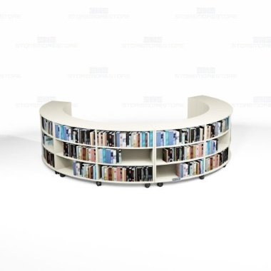 mobile library bookshelf kits