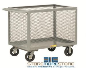 bulk storage transport bins
