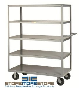 heavy duty shelf trucks