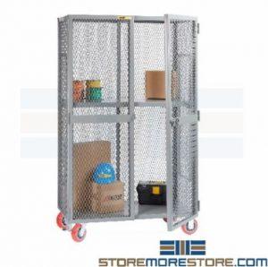 vented mobile storage lockers