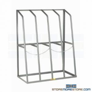 vertical pipe bar stock storage racks