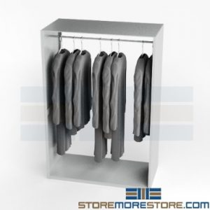hanging uniform storage racks
