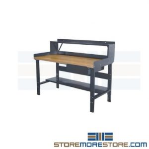 heavy-duty adjustable industrial workbenches