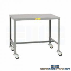 mobile machine shop worktables