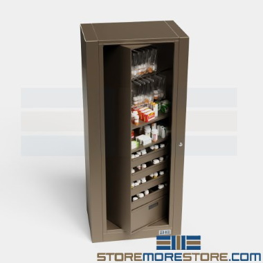 pharmaceutical rotating rotary filing cabinets