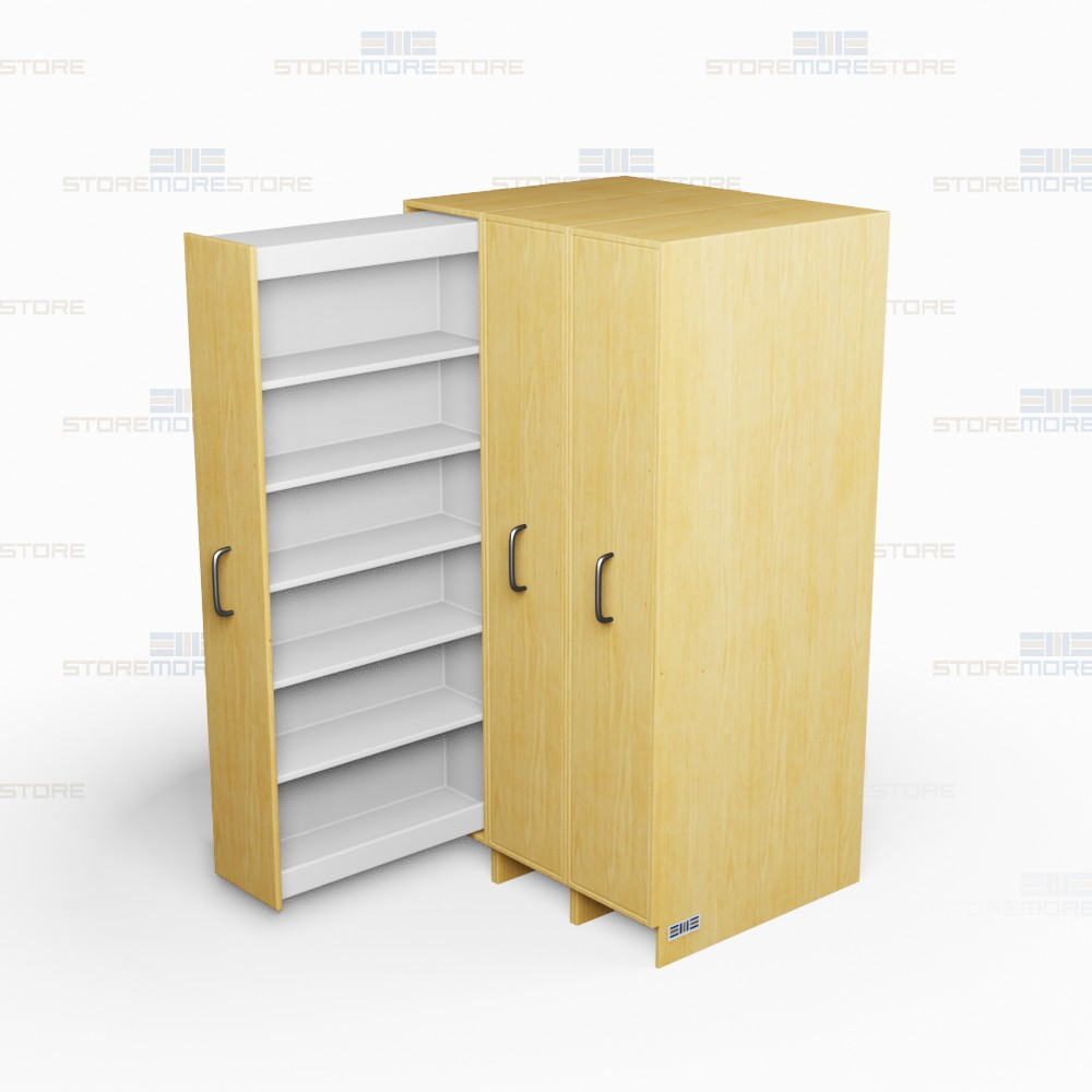 office filing system pull-out shelves