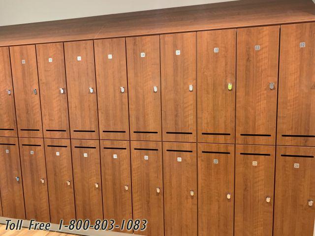 digital electronic keyless lockers