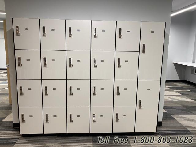 electronic keyless lockers