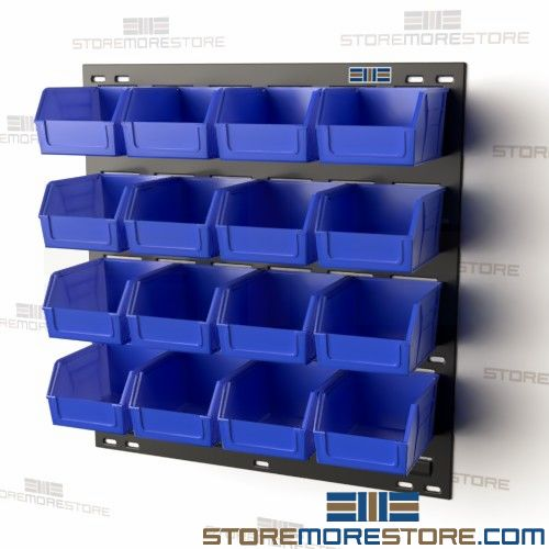 wall mounted bins garage shop storage