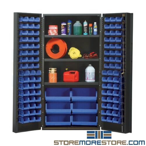 bin storage organization cabinet