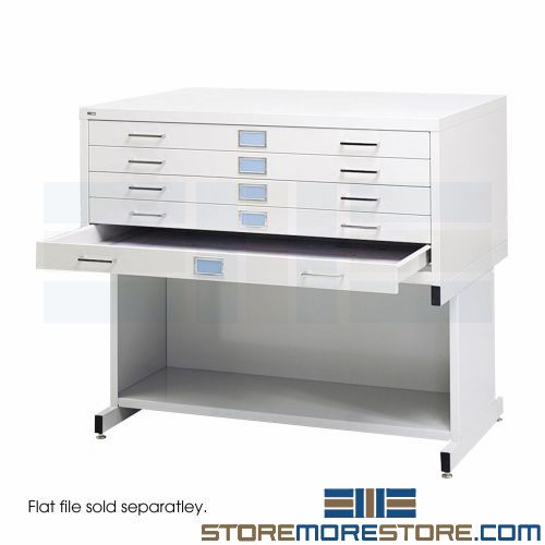 flat file museum cabinets